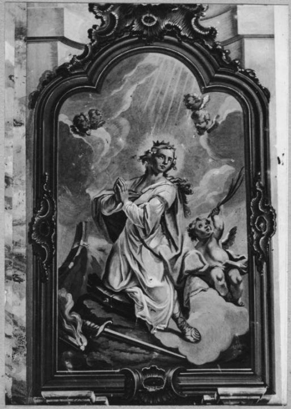 Фреска Свята Катерина (1762-1765)