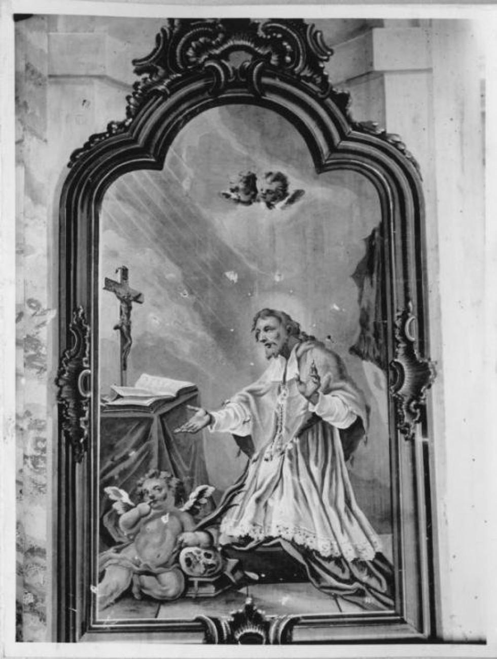 Фреска Ян Непомуцький біля вівтаря (1762-1765)