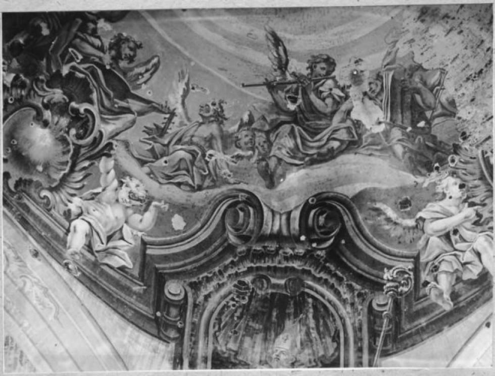 Фреска Воскресіння Христа (фрагмент) (1762-1765)