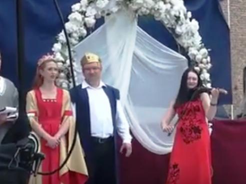 Наталія Горщар на фестивалі «Волинська княгиня»