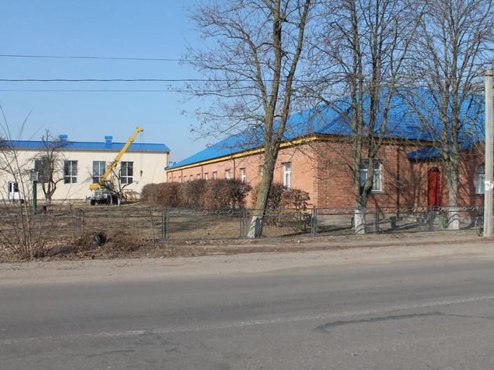 Добудова шкільного спортзалу в Седлищі