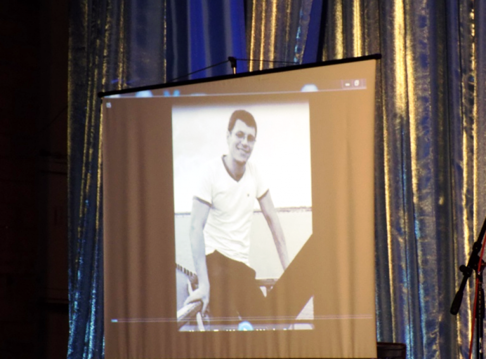 Відеоспогади про Едуарда Гриневича