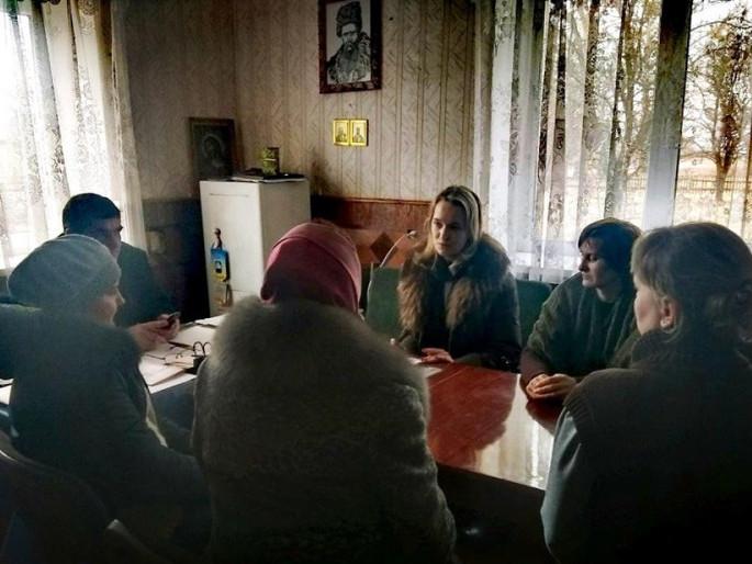 Виїзний прийом у селі Щитинь