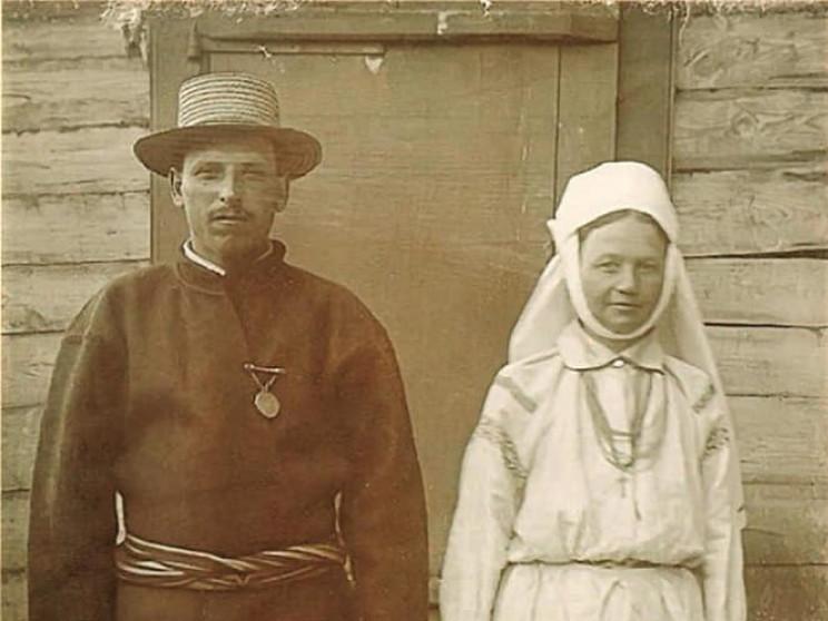 Любешівський староста з дружиною