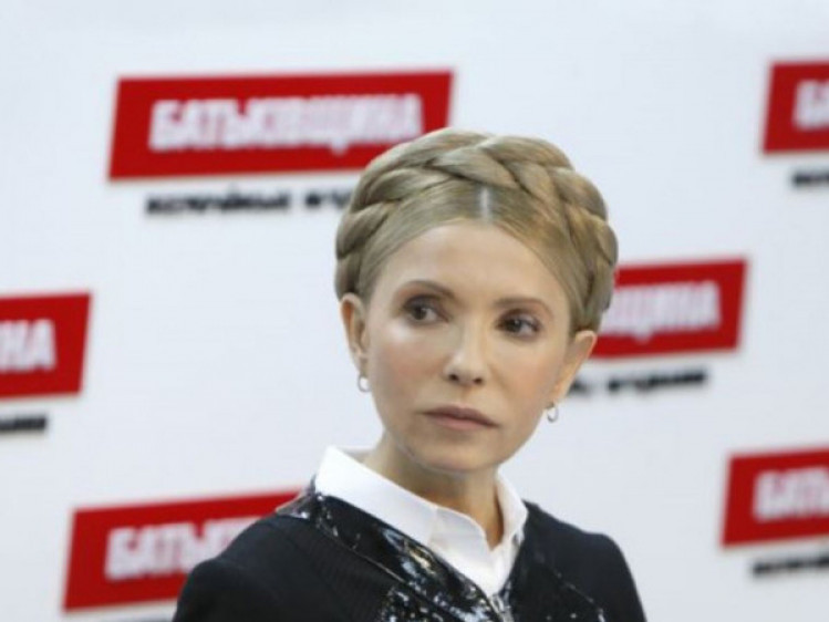Юлія Тимошенко, лідерка ВО «Батьківщина»