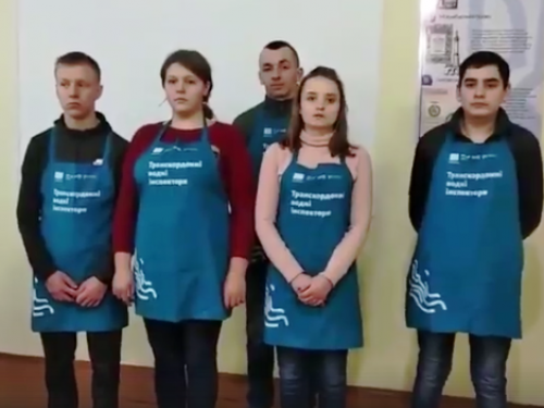 Команда ліцею села Судче
