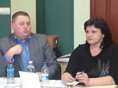 Сергій Кутинець і Ольга Кух