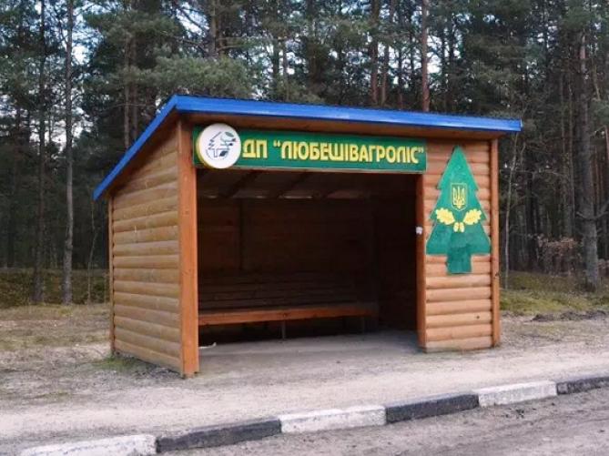 Зупинка біля «Любешівагролісу»