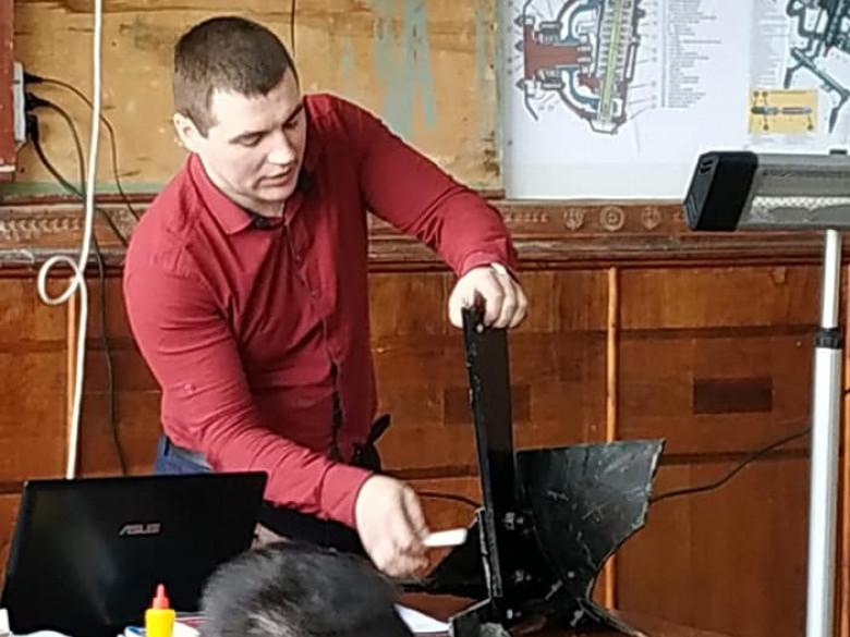 У Любешівському технічному коледжі пройшов тиждень механізатора