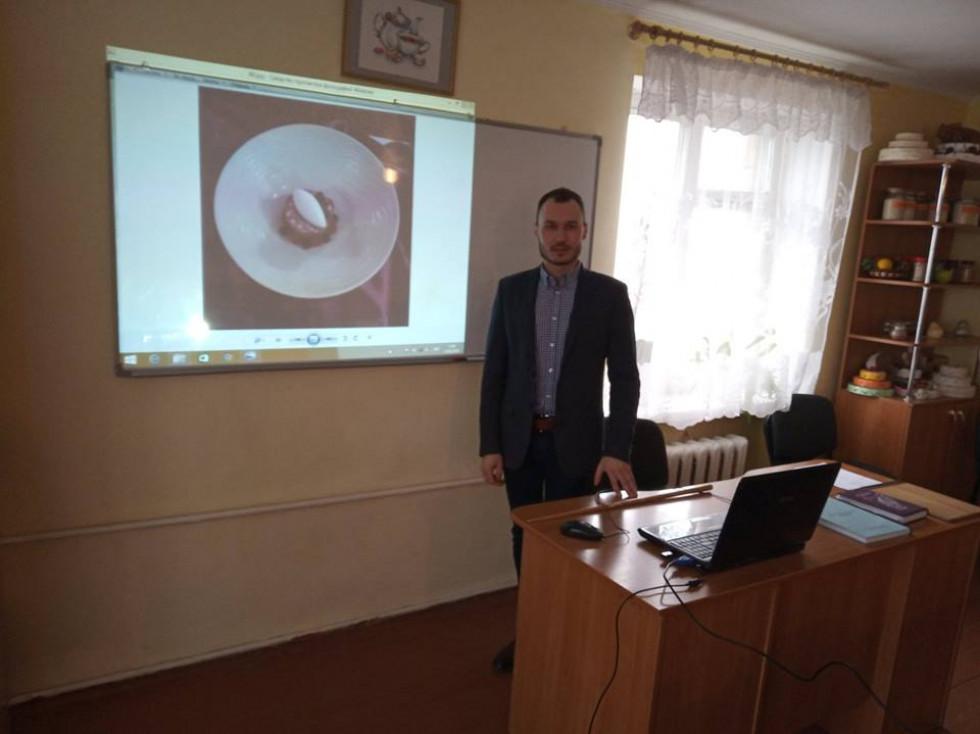Сергій розповів про себе, про свої професійні здобутки.
