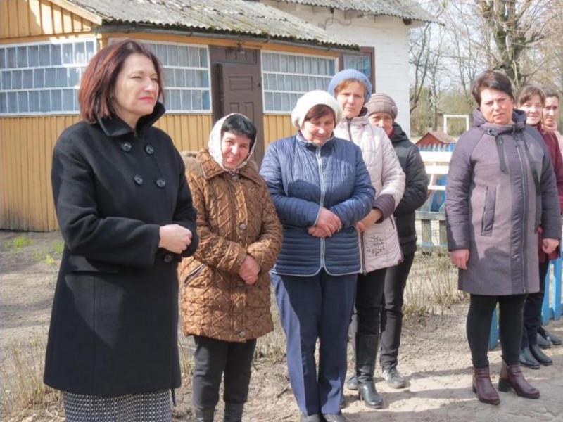 Ірина Констанкевич оглянула будівництво нової школи