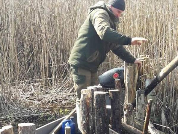 облизу Селіска природоохоронці розібрали річкову загату