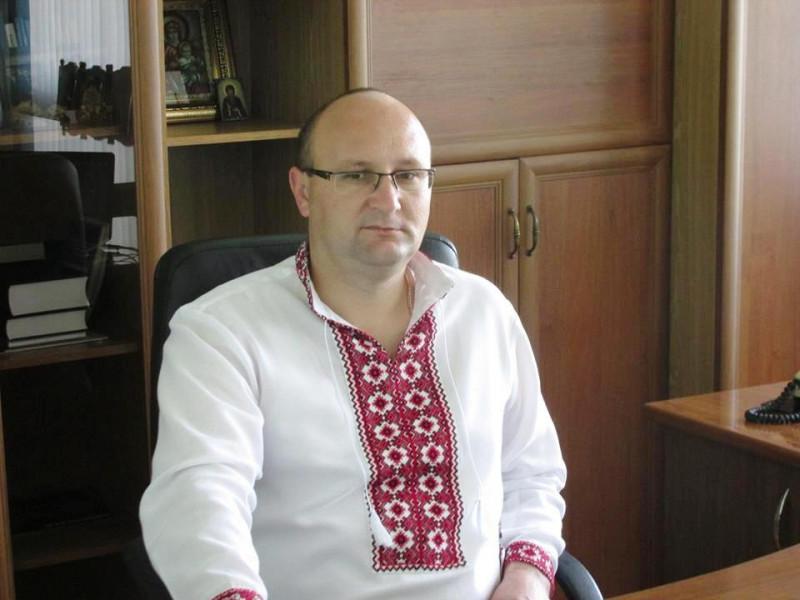 Любешівський селищний голова Олег Кух