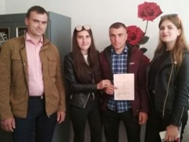 у Любешеві на минулих вихідних одружилися п'ять пар