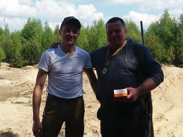 Переможець турніру Юрій Куницький (праворуч)