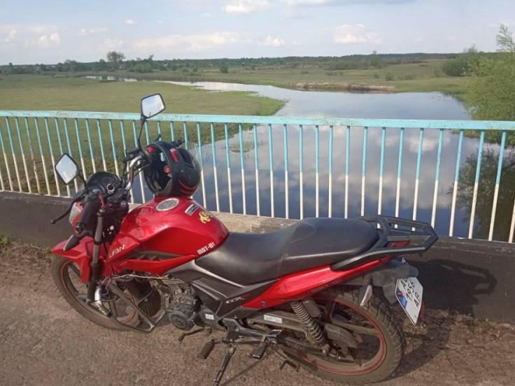 Украдений мотоцикл