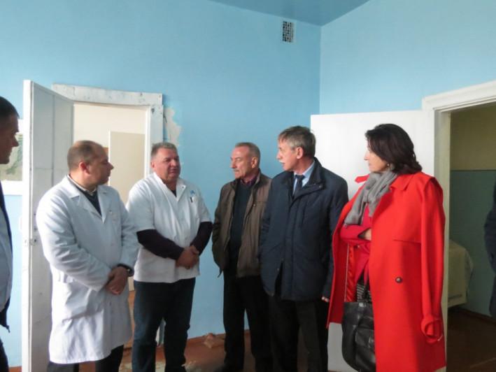 Під час візиту у Любешівську центральну районну лікарню