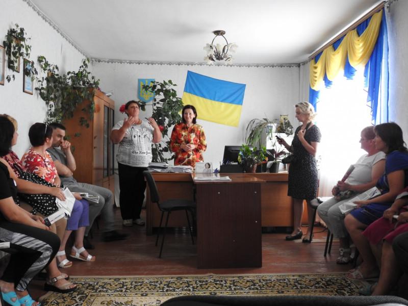 Ірина Констанкевич на Любешівщині