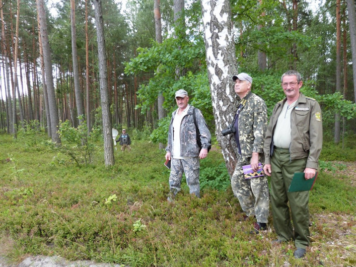 Учасники орнітологічної експедиції.