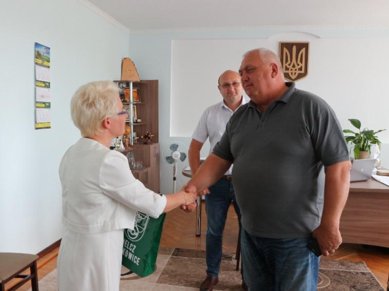 Агата Скєрська та Валерій Панасюк