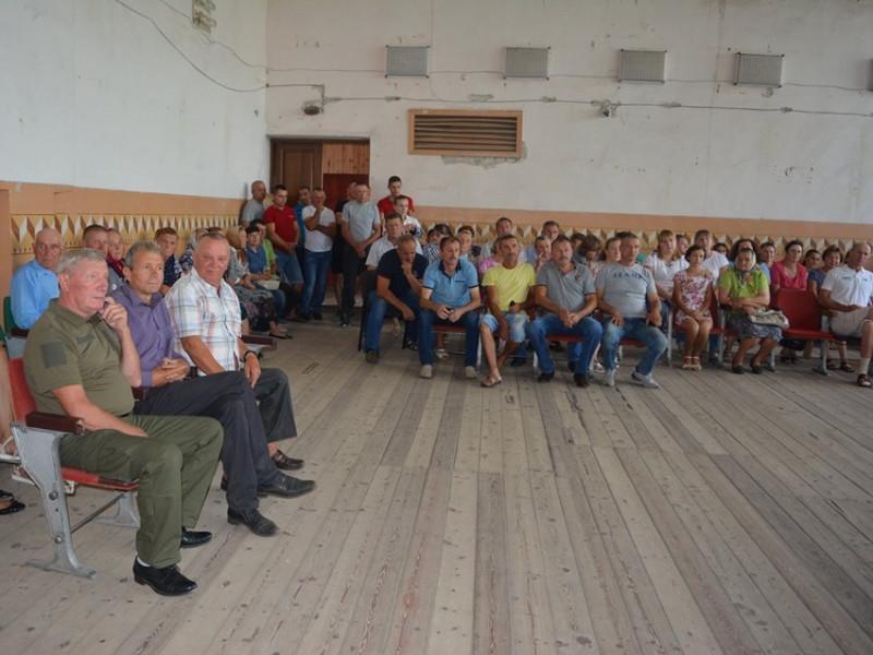 У Залізниці відбулися збори громади