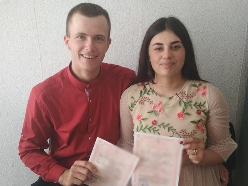 У Любешеві одружилася ювілейна пара Іванна та Павло