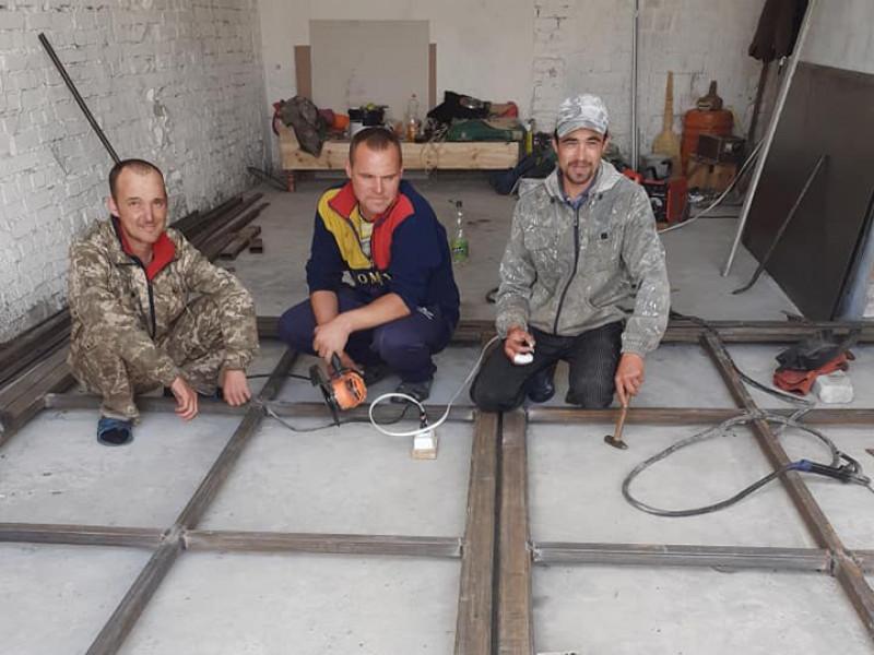 У Бірках відремонтували гараж для пожежного автомобіля