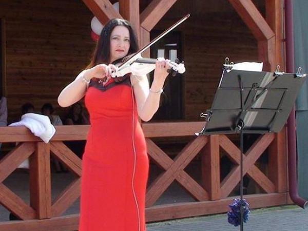Наталія Горщар і її магічна скрипка