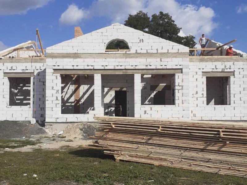Будівництво амбулаторії в Бірках