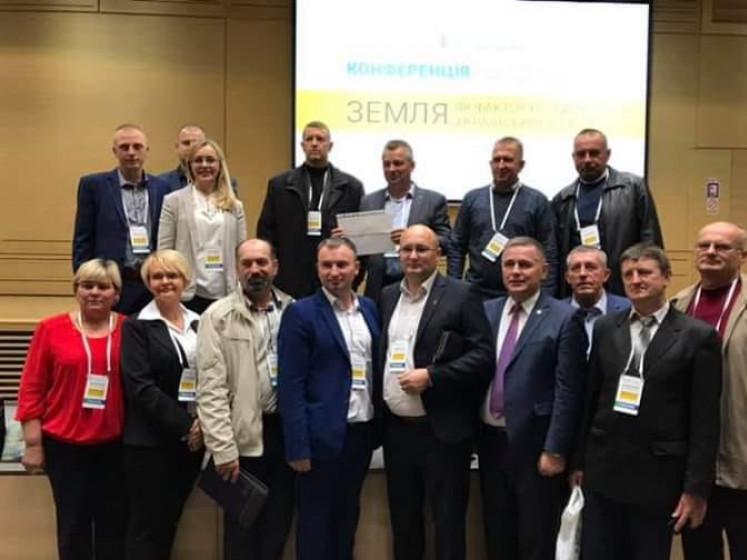 Олег Кух серед учасників конференції
