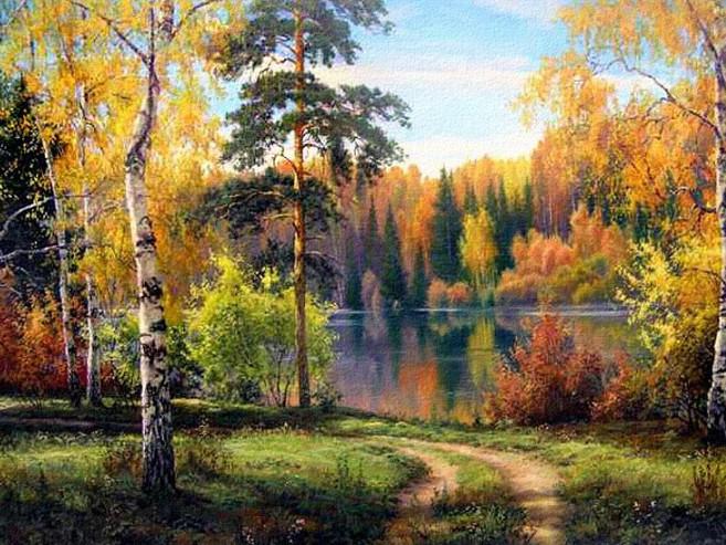 Осіннє озеро