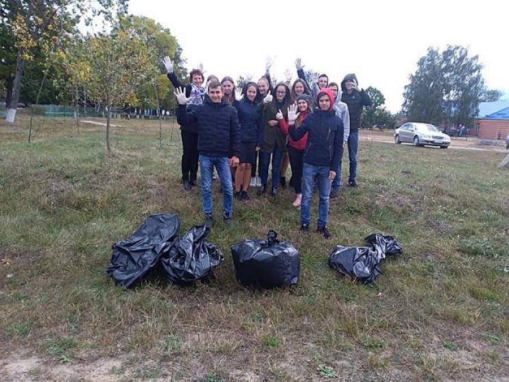 Седлище: ліцеїсти вчилися сортувати сміття