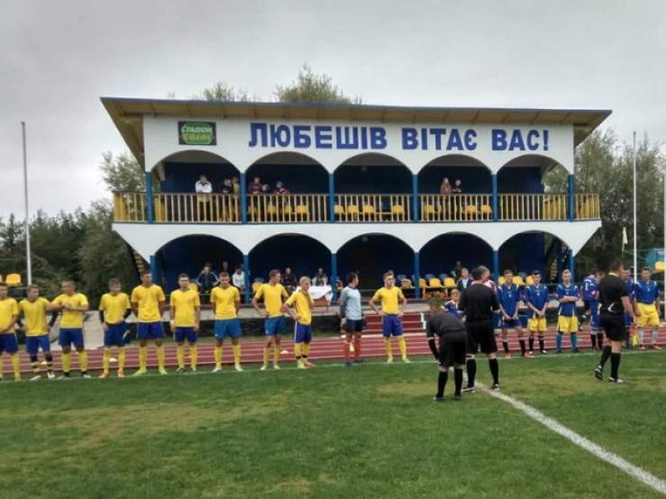 Футбол у Любешеві