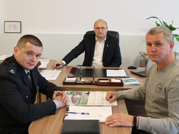 Представлення нового керівника поліції в Любешеві