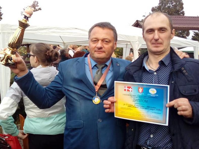 З дипломом «Бурштинової осені»