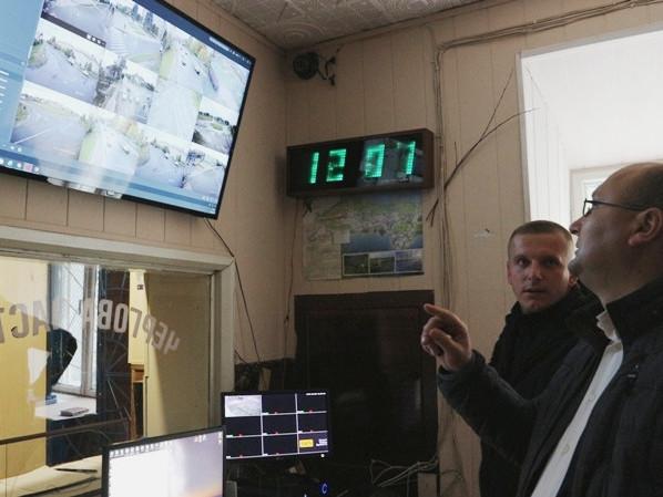 Система відеоспостереження в дії