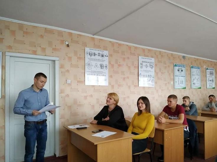 У Любешівському технічному коледжі провели ряд святкових заходів