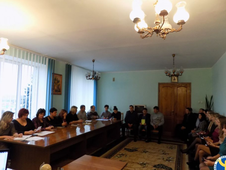 Працівники Любешівської райдержадміністрації