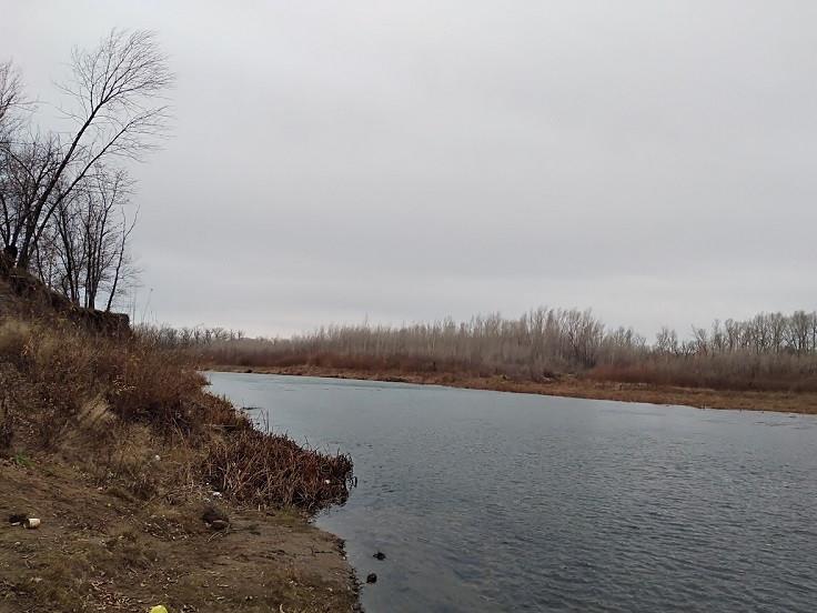 Річка в листопаді