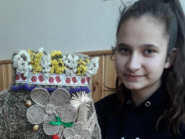 Переможниця шкільного конкурсу Ангеліа Кисель