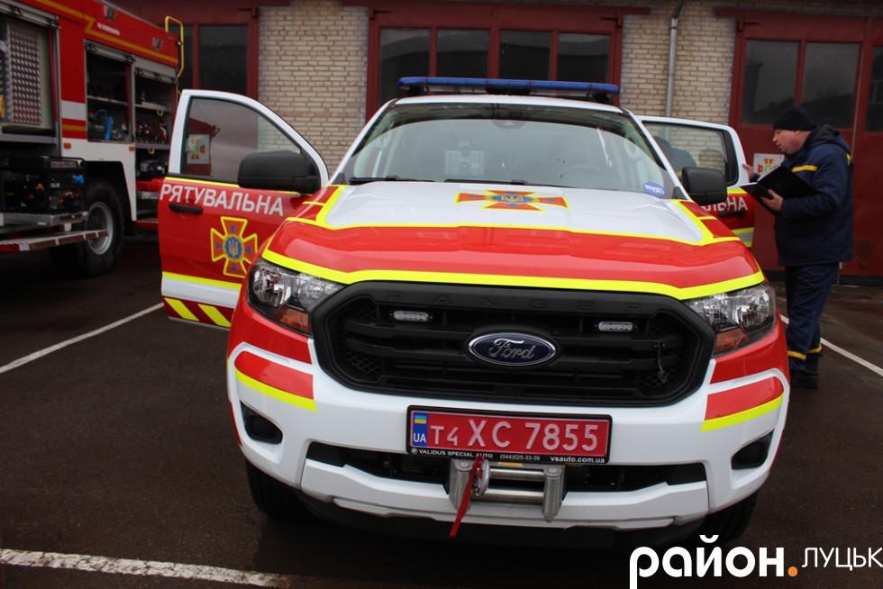 Аварійно-рятувальна машина
