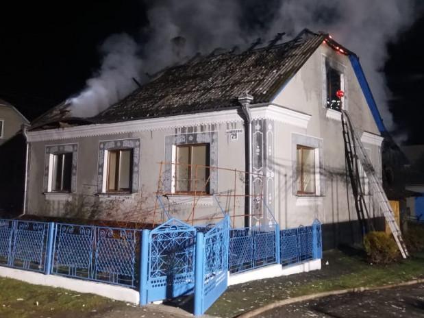 У родини Білоусів згоріла значна частина майна