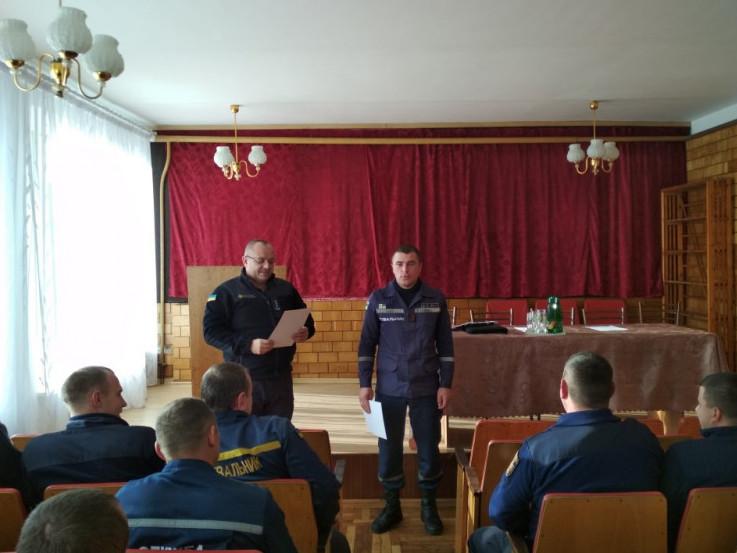Любешівські рятувальники підбивають підсумки діяльності