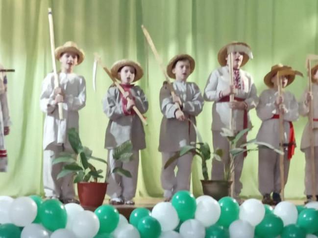 На сцені гурт «Косарики»
