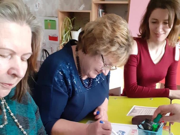 Учасниці методоб'єднання в Шлапані