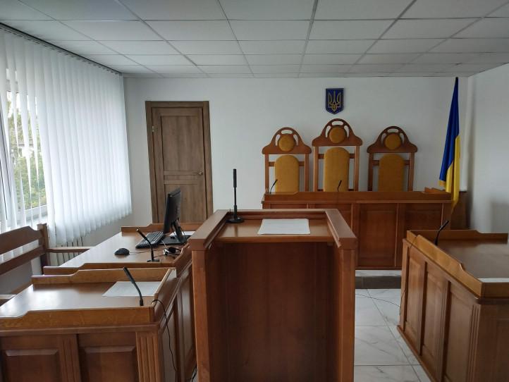 У залі засідань Любешівського районного суду