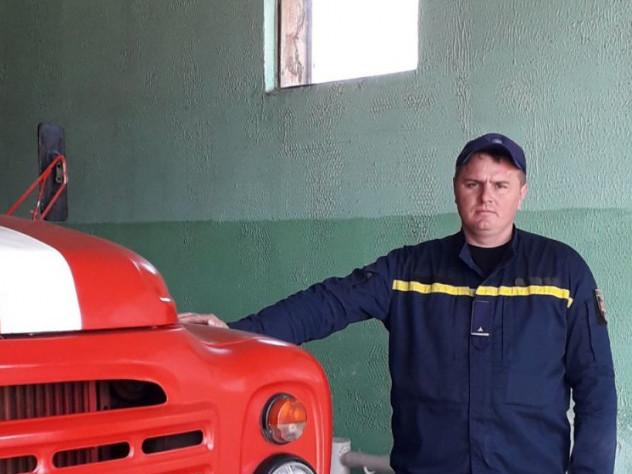 Старшина служби цивільного захисту Валентин Петелько