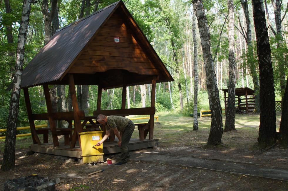 У найстарішому рекреаційному пункті на Волині проводять оновлення