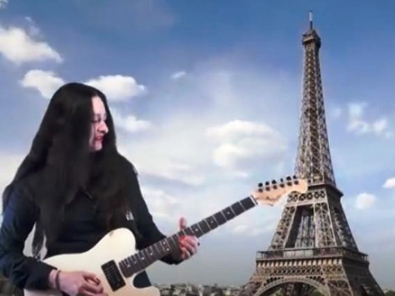 Кадр із відео «Віват, Париж!»