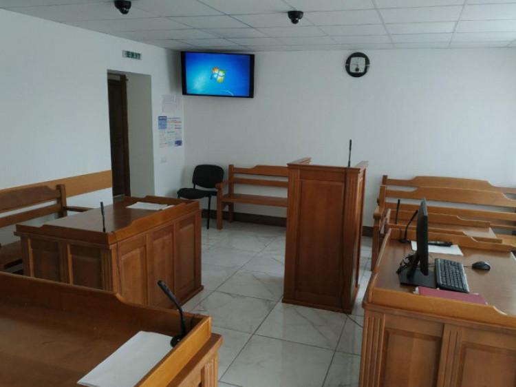 Зала засідань Любешівського районного суду
